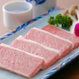 7 厳選三角カルビの熟成タレ焼