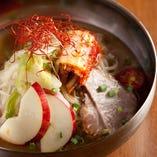 11 〆はさっぱり 盛岡冷麺