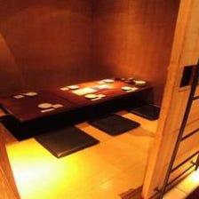 3階の6名様堀座敷の完全個室
