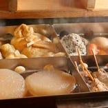 八丁味噌を使ったおでんや名古屋名物味噌串かつなど絶品料理揃い