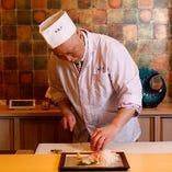 和食一筋30年以上の料理長がおもてなし
