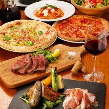 Pizza&Wine TARTARUGA  コースの画像
