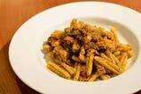 シチリア風 金華サバのカサレッチェ