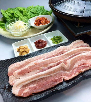 韓の舌 津店 メニューの画像