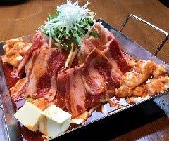 韓の舌 鉄板鍋