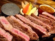 柔らかなアンガス牛の1ポンドステーキ