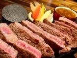 アンガス牛のステーキ(1ポンドorハーフ)
