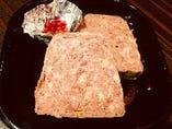豚肉とピスタチオのパテ・ド・カンパーニュ