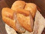 バゲット、ライ麦パン