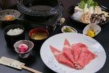 ロース肉すき焼きセット