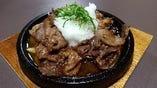 山形牛鉄板おろし焼肉定食(10/1~10/30)