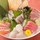 新鮮なお刺身料理をぜひ☆ 海鮮好きには たまらない!!