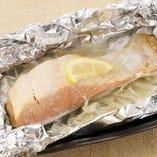 北海道産 秋鮭のホイル焼き