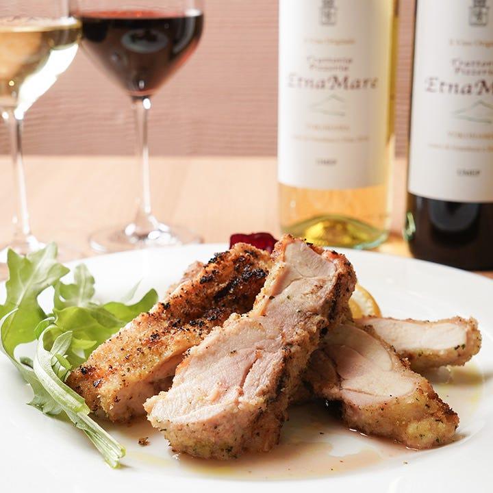 地中海の郷土の味を想わせるシチリア風の肉料理が自慢です♪