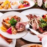 【ビュッフェスタイルもOK】大人数のパーティーでは立食スタイルでのご提供も可能です!テーブルスタイルもお客様のご希望に合わせてレイアウトさせていただきます。