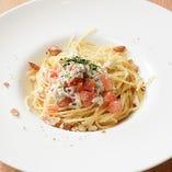 『生しらすとフレッシュトマトのスパゲッティ』