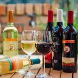 お料理に合うワインをソムリエが厳選!その時期に収穫されるいいワインを吟味し、シチリアを中心にイタリア全土のワインを約70種取り揃えております。