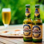 シチリア産ビール『メッシーナ』やイタリアンスタイルの生ビール『ペローニ』をお楽しみください!