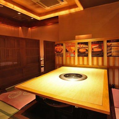 焼肉・しゃぶすき 牛禅 四谷店 店内の画像