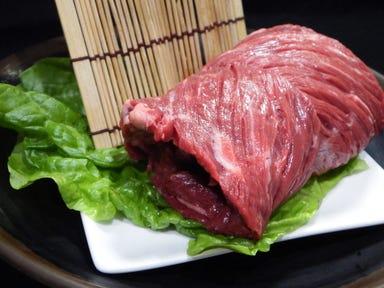 焼肉・しゃぶすき 牛禅 四谷店 メニューの画像