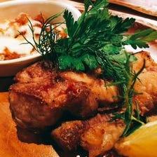 イベリコ豚のステーキ