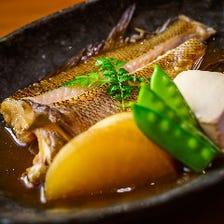 金目鯛煮付・塩焼