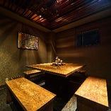 囲炉裏の個室【4〜6名様】グループでのご会食に最適◎旬を食する大人の空間