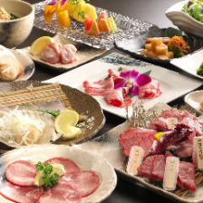 肉本来の旨味を実感/コース4,000円~