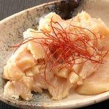 上ミノ 【第一胃袋】コリコリとした食感で淡白な味わいです。