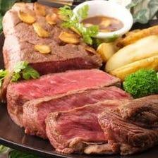 【NO,1】アンガスブラックのステーキ