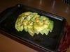 アボカドとブルーチーズのオーブン焼き