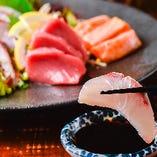 プリップリ食感がたまらない『季節の鮮魚』