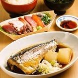 煮魚と刺身が付いて1000円で食べられるのは源ちゃんだけ!