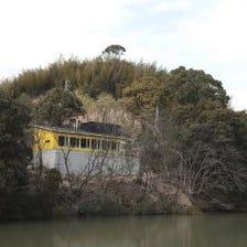 ◆池のほとりのレストラン