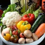 契約農家から仕入れる産直野菜【国内契約農家】