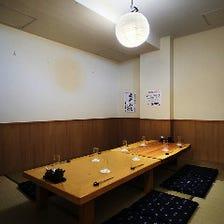 12名様までのお座敷完全個室