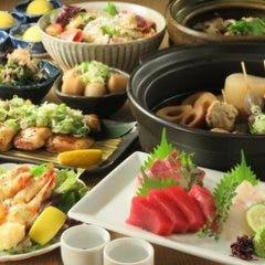 【9月~】【2時間飲み放題付き5000円コース】さかなのとも名物 塩ちゃんこ鍋と秋の味覚堪能コース全9品