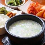 〈ランチ〉 名物ソルロンタンも味わえる、定食を多数ご用意
