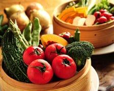 新鮮野菜を使ったヘルシーメニュー