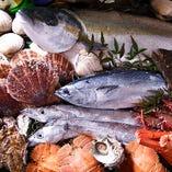 季節の海鮮魚貝【全国各地】