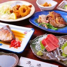 絶品海鮮料理+飲放付のコース有り♪