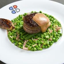 【旬のSPランチ】メインは国産牛フィレ肉、選べる季節のデザート Menu Special