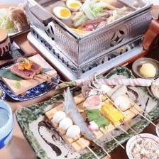 名物料理を存分に堪能する賑やかな宴