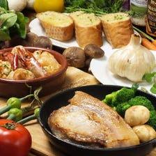 【1日1組限定】【3時間飲み放題】貸切宴会!当店自慢のスペアリブ、人気の豚肉料理を盛り込んだコース