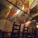 【新目黒茶屋】贅沢な西陣織ソファー席!ゆったりお食事が楽しめます!