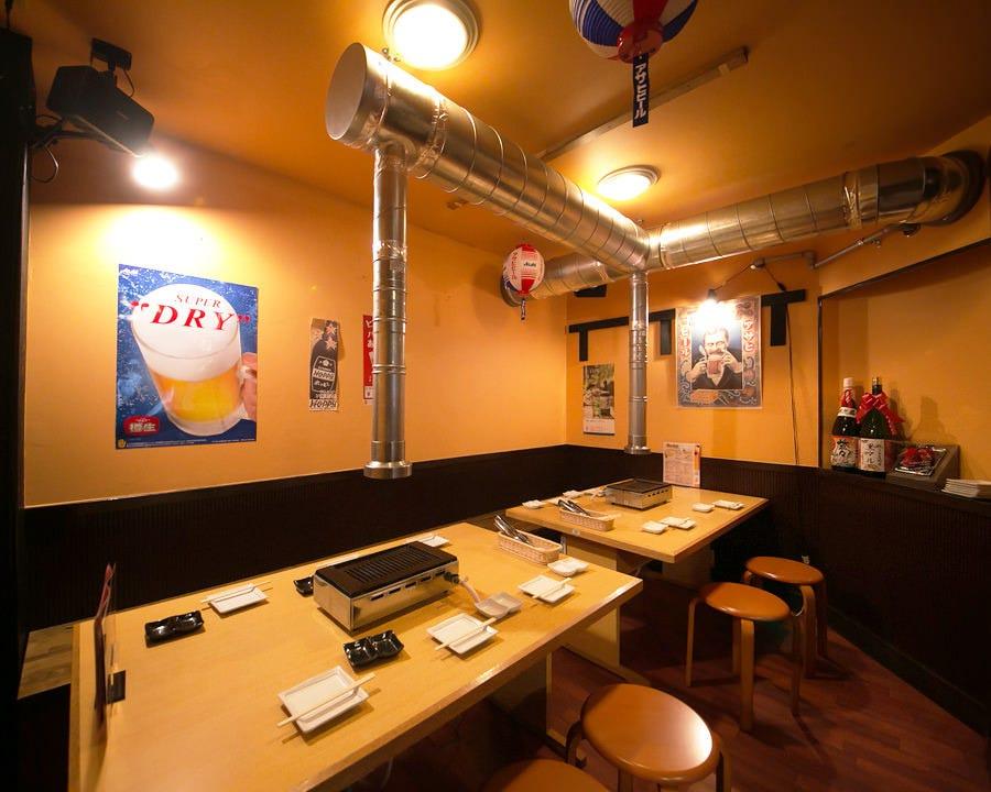 ご宴会にピッタリな個室完備!