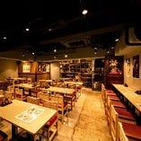 開放的な店内空間で各種ご宴会を!お勤め先での飲み会にも最適!