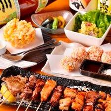 旬の食材を使用した宴会コース3980円