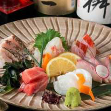 旬の鮮魚刺身盛り合せ