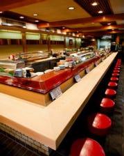 お寿司はカウンターで食べるのが一番